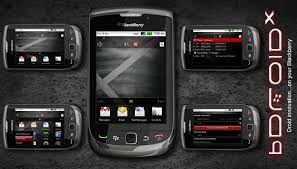 themes mobile black berry give your blackberry the look of droid with bdroidx theme berryreview