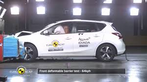 nissan pulsar sportback new nissan pulsar crash test youtube