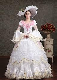 antoinette costume white pink flower antoinette costume wedding party dresses