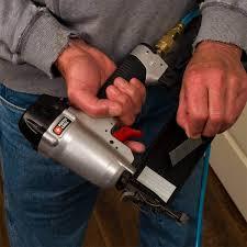 how to use a trim nailer gun family handyman