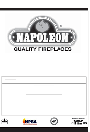 napoleon fireplaces indoor fireplace gd36ntr user guide