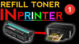how to refill laser printer toner cartridge hp u0026 canon part 1