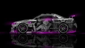 nissan car 2014 nissan skyline gtr r34 anime aerography car 2014 el tony
