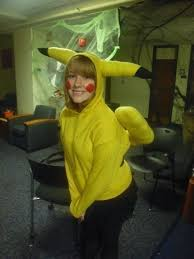 Pikachu Costume Pikachu Costume An Chracter Costume Sewing On Cut Out Keep