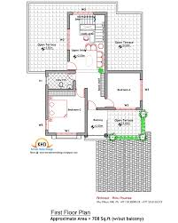 floor plan design sq ft low cost house kerala home and housing