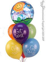 get balloons delivered get well balloons same day delivery orange county ca florist
