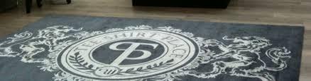 tapis couloir sur mesure tapis sur mesure et personnalisé tapis logo et accueil