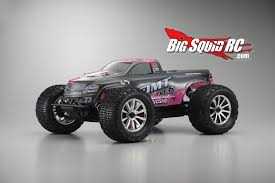 4 pole kyosho dmt ve 3s capable 4wd monster truck big squid rc