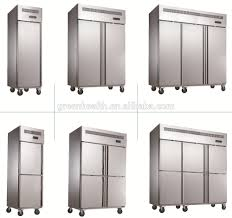 1 glass door doors stainless steel commercial refrigerator 500l