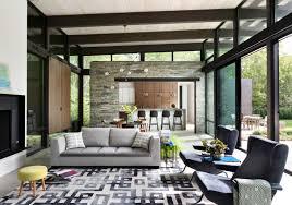 Living Room Furniture Long Island by Long Island Retreat Lake Flato