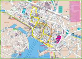 St Malo France Map by Toulon Tourist Map
