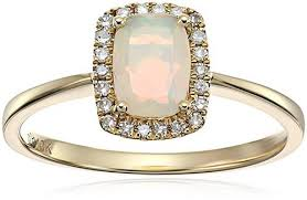 Opal Wedding Ring Sets by 36 Most Unique Opal Engagement Rings From Etsy