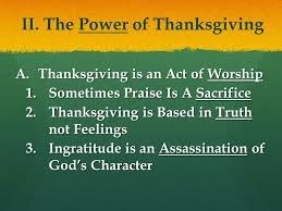 the thanksgiving jennie august browncombe ppt