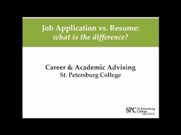 How To Complete A Resume How To Complete A Job Application Youtube