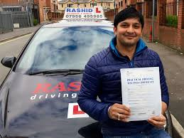 hitesh passed his manual car driving test with rashid driving