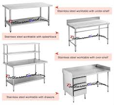 commercial kitchen furniture commercial stainless steel bench stainless steel sink stainless