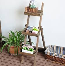 Wooden Patio Plant Stands by Tiered Wooden Garden Planter Tiered Wooden Garden Planter