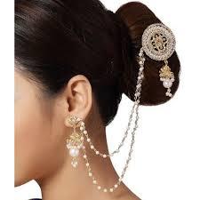 hair pin hair pin and earring hair pin and earring s m jewellery