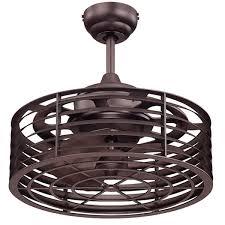 brette 23 in led indoor outdoor brushed nickel ceiling fan now brette ceiling fan helpful caged fans modern shades of light