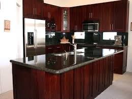 Cherry Kitchen Cabinets With Granite Countertops Cherry Kitchen Cabinets Cherry Kitchen Cabinets With Gray Walls