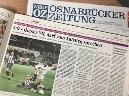 M Elmarkt Vor Dem Derby Die Letzten Zehn Spiele Des Vfl Osnabrück In Meppen