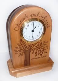 personalized wedding clocks 25 best wood leather clocks images on clock wall