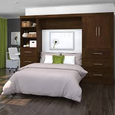 Murphy Bed Price Range Forest Designs Queen Murphy Bed With Optional Pier And Desk