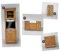 meuble cuisine zinc meuble cuisine bois et zinc mineral bio