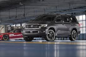toyota sport utility vehicles toyota applies the trd sport treatment to the sequoia suv and