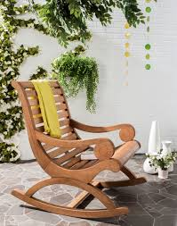 Outdoor Patio Rocking Chairs Porch Rocking Chair Outdoor Furniture Safavieh Com