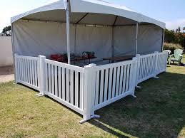 picket fence rental service