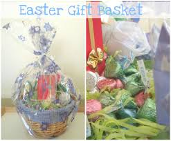 gift basket wrapping paper easter gift basket jpg