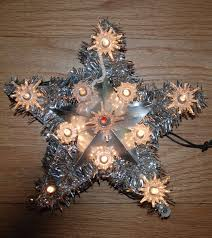 Star Christmas Tree Toppers Lighted - christmas tree topper lighted star christmas lights decoration