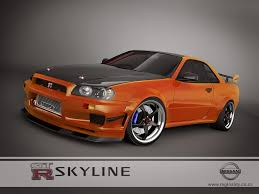 skyline nissan 2015 nissan skyline gtr r34 orange by 3dmanipulasi on deviantart