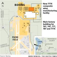 at boeing u0027s 777x wing factory robots get big jobs the seattle times
