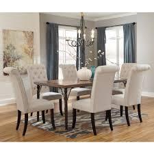 signature design by tripton 7 rectangular dining room