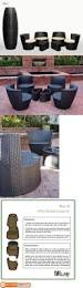 Stackable Patio Furniture Set -