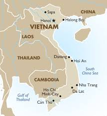Dubai On World Map Vietnam Geography And Maps Goway Travel