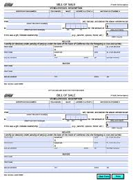 Sample Bill Of Sale Car by Free California Dmv Bill Of Sale Reg 135 Vehicle Boat Form