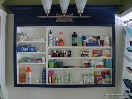 Bathroom Medicine Cabinets How To Update An Old Dated Medicine Cabinet On A Tight Budget