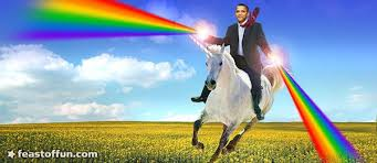 Obama Shooting Meme - obama shoots rainbow of hope change from hand truth revolt