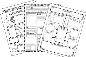 printable book labels ks2 a book about me printable