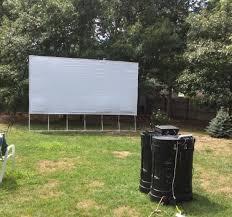 Backyard Movie Theatre by Backyard Movie Theatre Pkg Cape Cod Inflatable Rentals