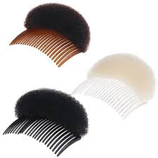 bun accessories volume inserts hair clip bump it up bouffant hair comb bun maker
