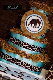 safari baby shower boy elephant baby shower jungle baby shower