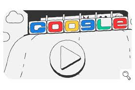 American Flag Doodle Google Celebrates Day 9 Of The Doodle Snow Games