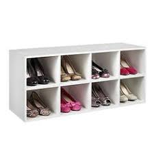 Closetmaid 15 Cubby Shoe Organizer White 15 Unit Stackable Organizer White Room Essentials Target