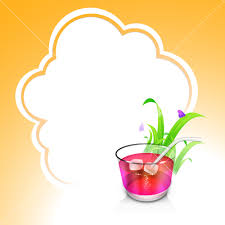 cosmopolitan drink clipart evening summer concept with cold drinks on cloud background