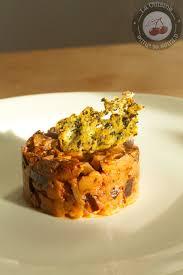tuile cuisine aubergine avec sa tuile de parmesan au basilic la cuisine d elise
