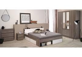 Schlafzimmer Braun Silber Schlafzimmer Mit Bett 140 X 200 Cm Eiche Silber Weiss Woody 167